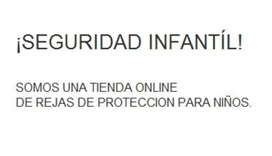 ¡Seguridad infantíl! Somos una tienda online de rejas de protección para niños